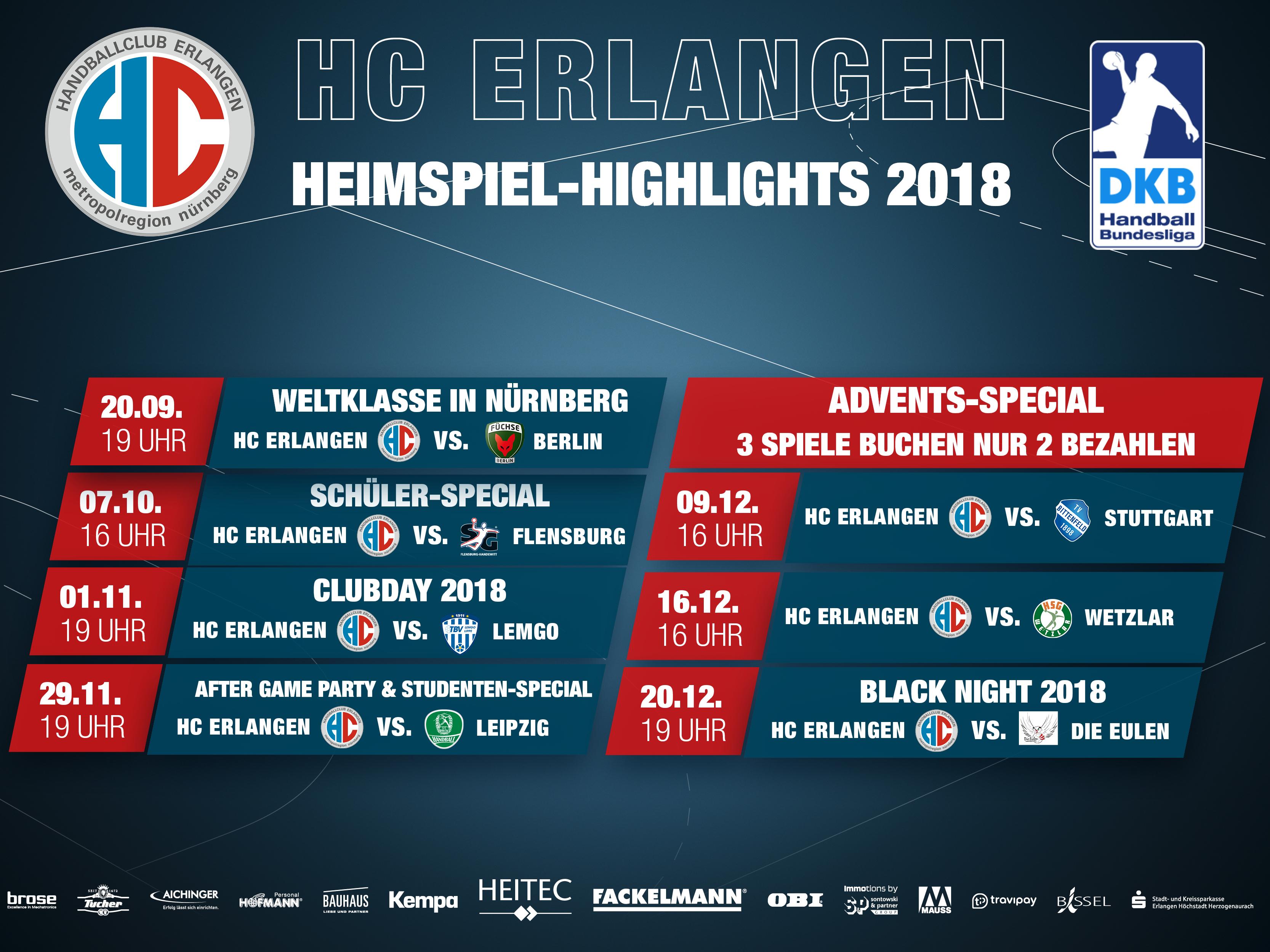 Spielplan Hc Erlangen